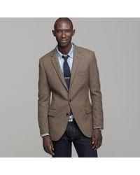J.Crew | Brown Ludlow Sportcoat in Harvest Herringbone English Wool for Men | Lyst