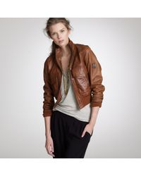 J.Crew | Brown Belstaff® Air Bomber Jacket | Lyst