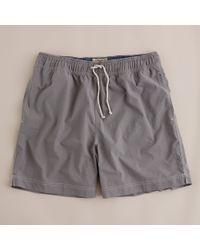 J.Crew | Gray Solid Nauset Trunks for Men | Lyst