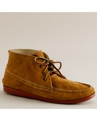J.Crew - Brown Mens Quoddy® Suede Chukka Boots for Men - Lyst