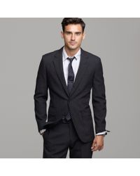J.Crew - Gray Ludlow Three-button Suit Jacket with Double-vented Back in Thornproof Wool for Men - Lyst