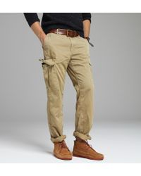 J.Crew | Natural Stanton Cargo Pant in Urban Slim Fit for Men | Lyst