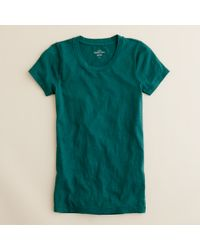 J.Crew | Green Vintage Cotton T-shirt | Lyst