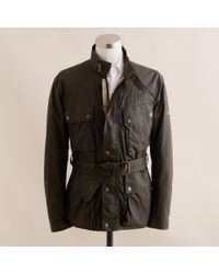 J.Crew | Green Belstaff® Original Trialmaster Jacket for Men | Lyst