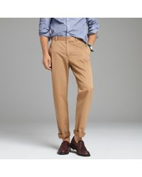 J.Crew | Natural Essential Chino in Classic Fit for Men | Lyst