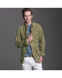 J.Crew | Green Belstaff® Lawrence Replica Jacket for Men | Lyst