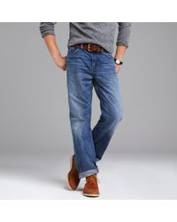 J.Crew | Blue Relaxed Jean In Light Indigo Wash for Men | Lyst