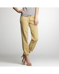 J.Crew | Natural Broken-in Boyfriend Chino | Lyst