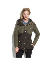 Madewell - Green Penfield Kasson Tweed Jacket - Lyst