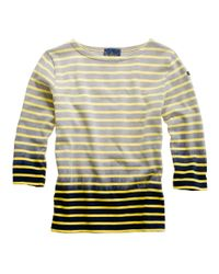 Madewell - Yellow Share With...le Minor® Dip-dyed Tee - Lyst