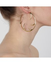 Shaun Leane | Yellow Large Cat Claw Earrings | Lyst