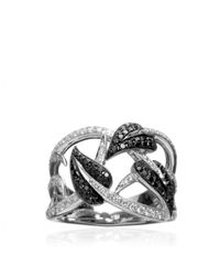 Stephen Webster White Poison Ivy Band Ring