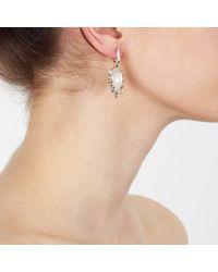 Stephen Webster White Mother Of Pearl Super Stud Earrings