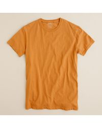 J.Crew | Brown Broken-in Tee for Men | Lyst