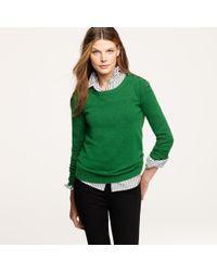 J.Crew | Green Snowbound Sweater | Lyst
