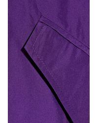 Jil Sander - Purple Lightweight Taffeta Parka - Lyst