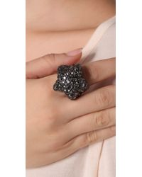 Marc By Marc Jacobs | Metallic Pave Star Ring | Lyst