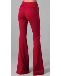 Rachel Zoe   Red Hutton Tuxedo Pants   Lyst