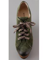 Boutique 9 Green Womens Wendolyn Fashion Sneaker