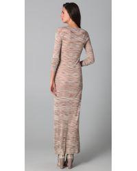 James Long | Natural Striped Dress | Lyst