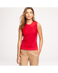 J.Crew | Red Jackie Shell | Lyst
