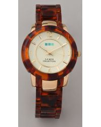 La Mer Collections - Natural Indo Lucite Watch - Lyst