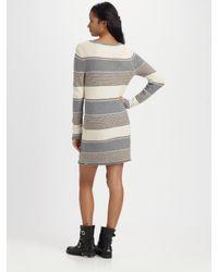 Splendid | Multicolor Striped Wool-blend Sweater Dress | Lyst