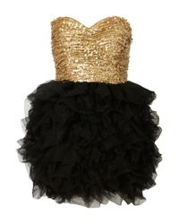 TOPSHOP Metallic Sequin Ballerina Dress By Rare Opulence**