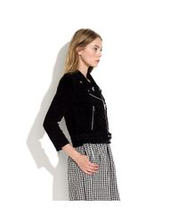 Madewell Black Alexa Chung For Suede Pixie Jacket