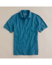 J.Crew | Blue Vintage Polo in Tailored Fit for Men | Lyst
