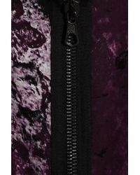 Rag & Bone Black Leonard Printed Silk Dress