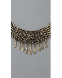 Vanessa Mooney - Metallic The Casbah Brass Necklace - Lyst