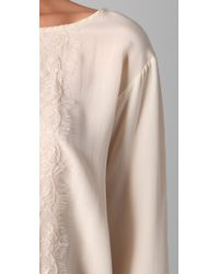 Club Monaco - Natural Clara Shirt - Lyst