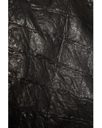 Kelly Bergin | Black Croc-effect Leather Jacket | Lyst