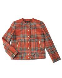 Rag & Bone | Red Harvard Jacket | Lyst