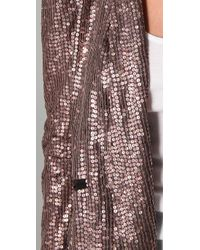 Rebecca Minkoff - Pink Becky Sequined Jacket - Lyst