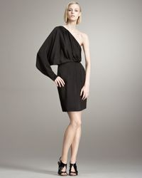 Stella McCartney | Black One-shoulder Dress | Lyst
