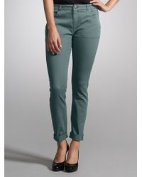 Whistles Charlie Coloured Skinny Jeans Green