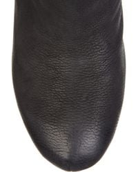 Ash - Black Uranus Rabbit and Leather Ankle Boots - Lyst