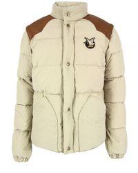 Chevignon | Natural Togs Beige Jacket for Men | Lyst