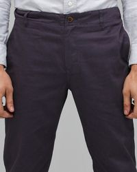 General Assembly - Blue Original Pants in Navy for Men - Lyst
