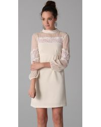 Nanette Lepore | Natural Ponderous Dress | Lyst