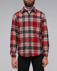 Pendleton | Red Solo Shirt for Men | Lyst