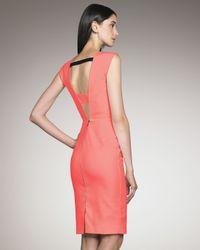 Roland Mouret - Pink Exclusive Skiffins Dress, Coral - Lyst