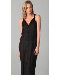 Therese Rawsthorne - Black Long Winding Dress - Lyst