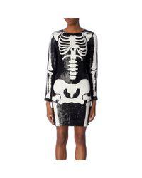 Ashish Black Skeleton Dress