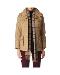 Barbour Brown Charlize Quilted Jacket