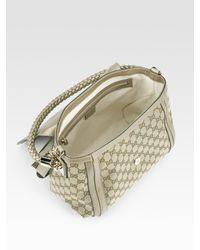 Gucci - Metallic Bella Medium Shoulder Bag - Lyst