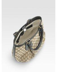Gucci | Natural Scarlett Medium Tote Bag | Lyst