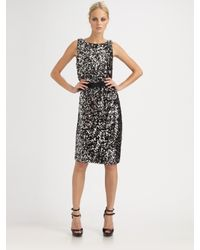 Callula Lillibelle | Metallic Sequined Dress | Lyst